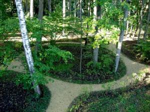 Лабиринты парка